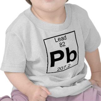 Element 082 - Pb - Lead (Full) Tee Shirts