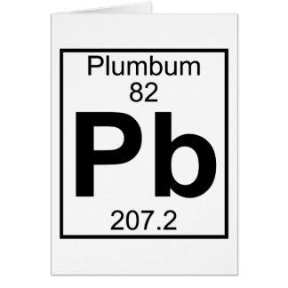 Element 082 - Pb - Plumbum (Full) Card