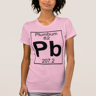 Element 082 - Pb - Plumbum (Full) Tee Shirt