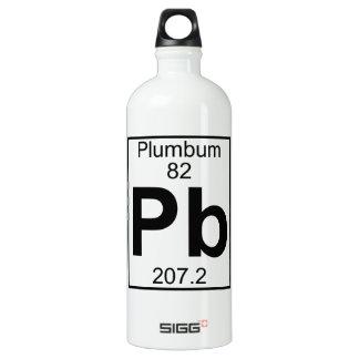 Element 082 - Pb - Plumbum (Full) Water Bottle