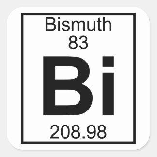 Element 083 - Bi - Bismuth (Full) Square Sticker