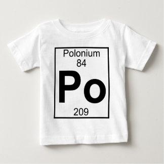 Element 084 - Po - Polonium (Full) Baby T-Shirt
