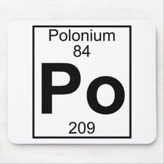 Element 084 - Po - Polonium (Full) Mouse Pad