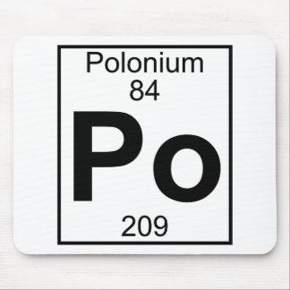 Element 084 - Po - Polonium (Full) Mousepad