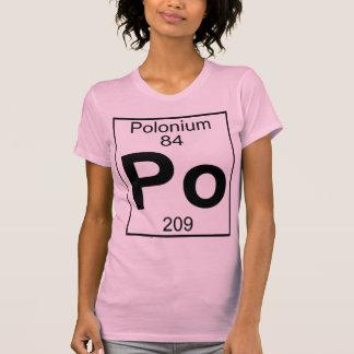 Element 084 - Po - Polonium (Full) T Shirt
