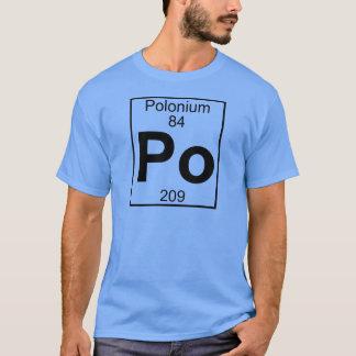 Element 084 - Po - Polonium (Full) T-Shirt