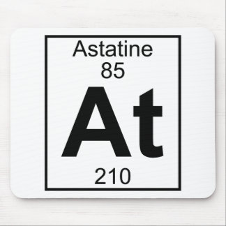 Element 085 - At - Astatine (Full) Mouse Pad