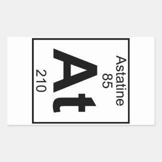 Element 085 - At - Astatine (Full) Rectangular Sticker