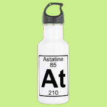 Element 085 - At - Astatine (Full) Stainless Steel Water Bottle
