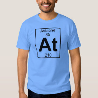 Element 085 - At - Astatine (Full) Tee Shirt