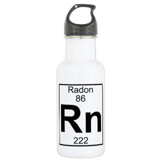 Element 086 - Rn - Radon (Full) 18oz Water Bottle