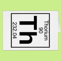 Element 090 - Th - Thorium (Full) Card