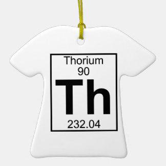 Element 090 - Th - Thorium (Full) Christmas Ornaments