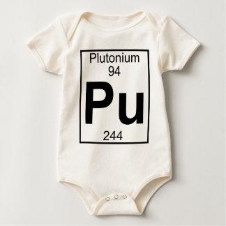 Element 094 - Pu - Plutonium (Full) Baby Bodysuit