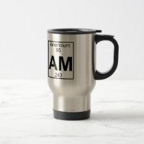 Element 095 - Am - Americium (Full) Travel Mug