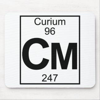 Element 096 - Cm - Curium (Full) Mouse Pad