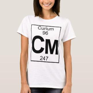 Element 096 - Cm - Curium (Full) T-Shirt