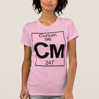 Element 096 - Cm - Curium (Full) Tee Shirt