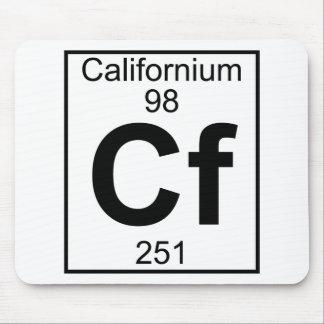 Element 098 - Cf - Californium (Full) Mouse Pad
