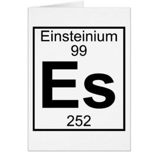 Element 099 - Es - Einsteinium (Full) Card