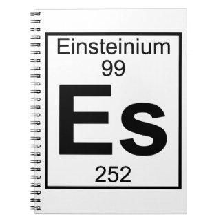 Element 099 - Es - Einsteinium (Full) Notebook