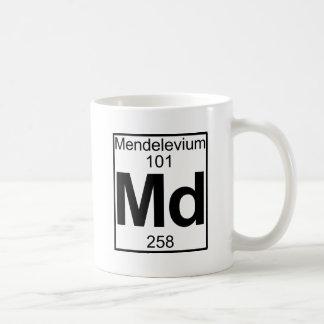 Element 101 - Md - Mendelevium (Full) Classic White Coffee Mug