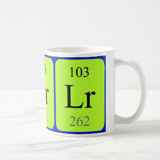 Element 103 mug - Lawrencium