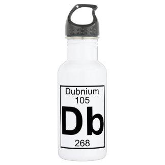Element 105 - Db - Dubnium (Full) Water Bottle