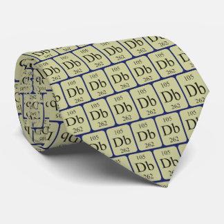 Element 105 Dubnium tie Transparent graphics