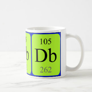 Element 105 mug - Dubnium