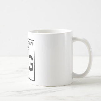 Element 106 - Sg - Seaborgium (Full) Coffee Mug