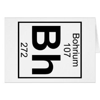 Element 107 - Bh - Bohrium (Full) Card