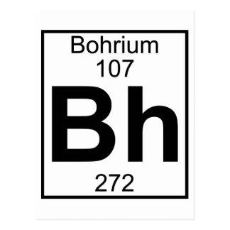 Element 107 - Bh - Bohrium (Full) Postcard