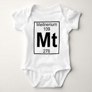 Element 109 - Mt - Meitnerium (Full) Baby Bodysuit