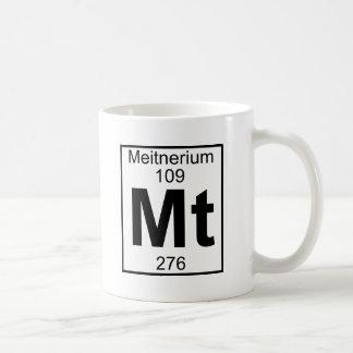 Element 109 - Mt - Meitnerium (Full) Coffee Mug