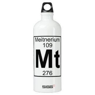 Element 109 - Mt - Meitnerium (Full) Water Bottle
