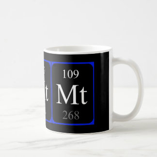Element 109 mug - Meitnerium
