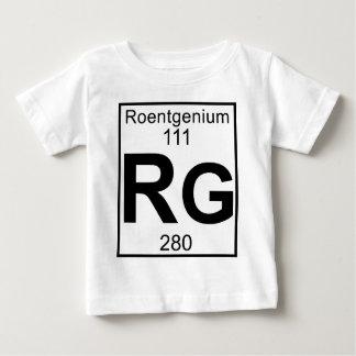 Element 111 - Rg - Roentgenium (Full) Baby T-Shirt