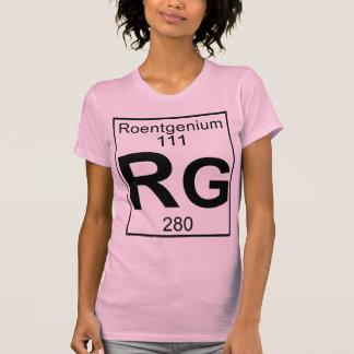 Element 111 - Rg - Roentgenium (Full) Shirt