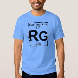 Element 111 - Rg - Roentgenium (Full) T Shirts
