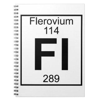 Element 114 - Fl - Flerovium (Full) Notebook
