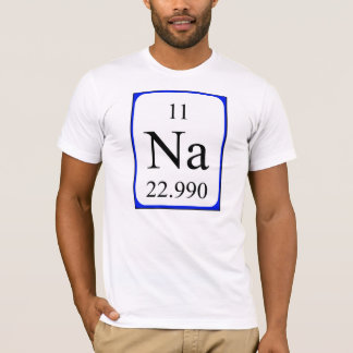 Element 11 shirt - Sodium white