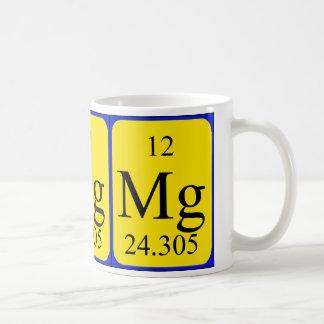 Element 12 mug - Magnesium