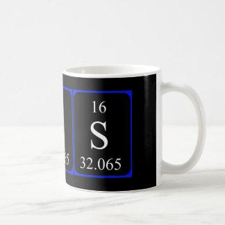 Element 16 mug - Sulphur