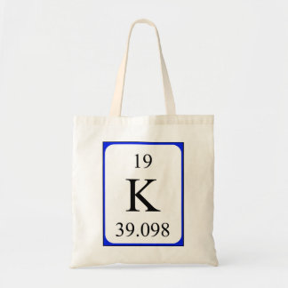 Element 19 bag - Potassium white