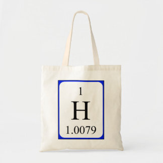 Element 1 bag- Hydrogen Tote Bag