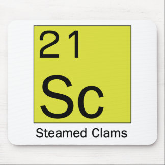 Element 21: Steamed Clams Mouse Pad