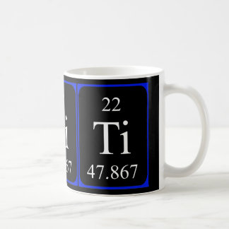 Element 22 mug - Titanium