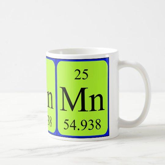 Element 25 mug - Manganese