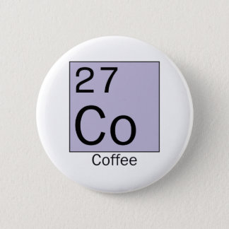 Element 27: coffee pinback button
